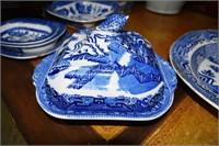 "English 18"" Platter With Restoration & Covered Veg"