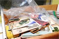 Large Collection Postcards, Pins & Ephemera