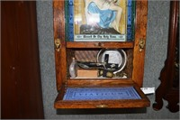 Holy Water Blessings Station With Last Supper Scen