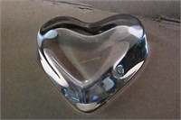 Baccarat Crystal Heart Paperweight