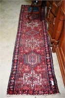 """Hand Knotted Estate Runner 106"""" X 28"""""""