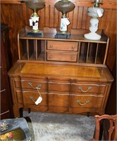 Sleigh Furniture Co. Ladies Writing Desk With Exte