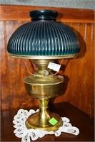 Aladdin Co. #23 Brass Oil Lamp