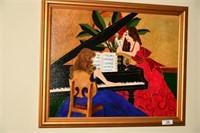 Renowned Woman Artist, OOC
