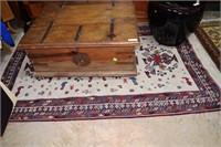 "84"" X 51"" Hand Loomed Estate Carpet With Bird Moti"