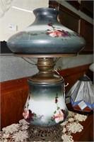 Vintage Hand Painted Electrified Success Parlor La