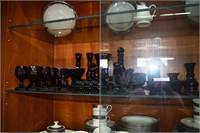 Avon Cape Cod Cranberry Glass - 25Pcs