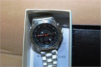 Stauer Men'S Leather Wrist  Date Watch & Stauer Da
