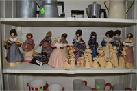 20 + Corn Husk Dolls