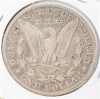 Coin 1890-CC  Morgan Silver Dollar in Good+