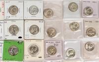 Coin 81 Washington Silver 90% Quarters