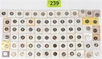 Coin 72 Washington Proof Struck  Quarters