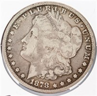 Coin 18780-CC  Morgan Silver Dollar in Very Good