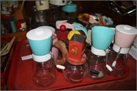 Vintage Syrup Containers