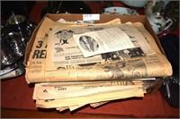 Assorted Vintage Newspapers