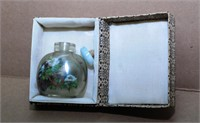 Chinese Snuff Bottle In Box