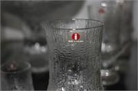 9 Pieces Iittala Ultima Thule Crystal Glassware In