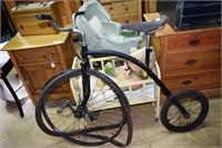 Custom Big Wheel Bike With Brooks Seat, Royal Unio