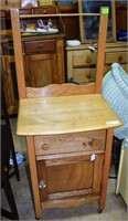 """Refinished Pine Wash Stand 50""""X17""""X22"""""""