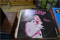 Large collection Elvis records