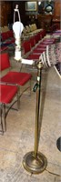 Highly Polished Brass Floor Lamp