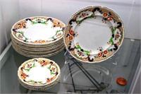 11 John Maddock & Sons Royal Vitreous Bombay Dinne