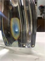 "12"" Baccarat Art Deco Vase"