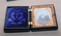 2 Tin Degerotypes In Leather & Goudapurcha Cases