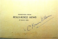 1950S Rolls Royce Bulletins