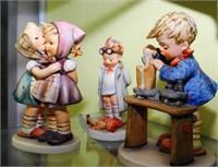 3 Hummel Figures: Kissing Cousins, A Fair Measure,