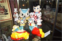 Vintage Kitchen Ware Including Plastic Big Boy, Ca