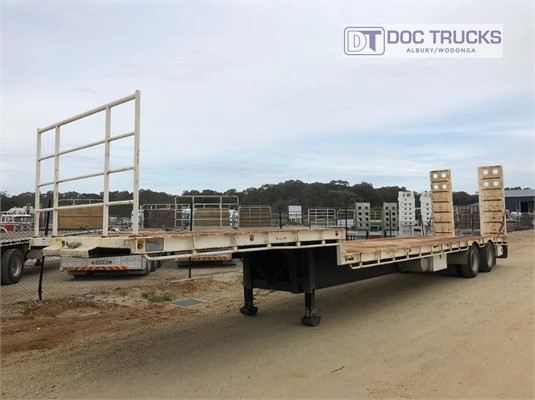 2014 Maynard 45ft Heavy Duty St2 Drop Deck Trailer DOC Trucks - Trailers for Sale