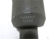 Unertl No 7-150, 24x63 spotting scope with