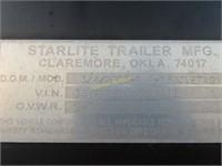 2005 Starlite Gooseneck trailer