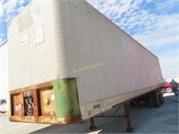 1970 fruehauf semi trailer 40ft
