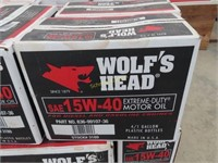 Wolf's head brand SAE 15 W - motor oil extreme