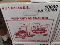 case for one gallon jugs of Lucas heavy duty oil