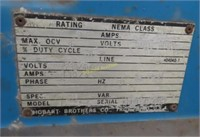 Hobart brand arc welder ac/dc Model 300