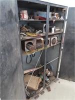 60 in tall welding cabinet heavy duty steel 36