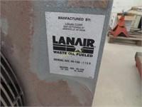Lanair waste oil heater serial number hi - 130 -
