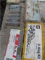 o-ring kits, cotter pin sets, solid seal solder