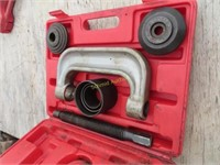 ball joint press set in plastic case