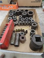 miscellaneous impact sockets and reducers