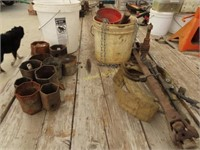 Hub sockets, strap, drive shaft and miscellaneous