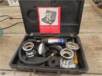 Stant pressure tester for cooling system model