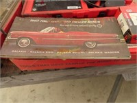 1963 Ford 500 Galaxie owners manual, tow rope,