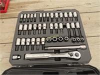 42 piece Craftsman socket wrench set quarter inch