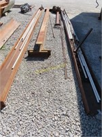 I beam Trolley system with chain hoist