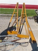overhead 1 ton trolley on casters
