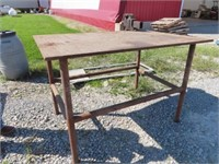 heavy duty Welding Table for foot wide, 99 inches